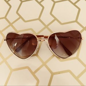 BP Accessories - BP Heart Sunglases